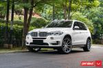 BMW X5 xDrive35i by Permaisuri on Vossen Wheels (HF-3) 2019 года